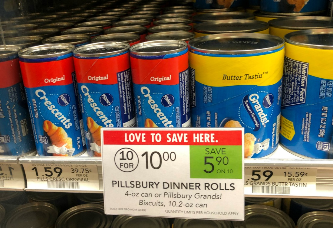 Pillsbury Crescent or Cinnamon Rolls or Biscuits Just 67¢ At Publix on I Heart Publix
