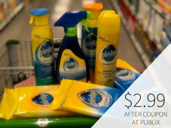 Super Deal on Pledge®Products Available Now at Publix on I Heart Publix 1