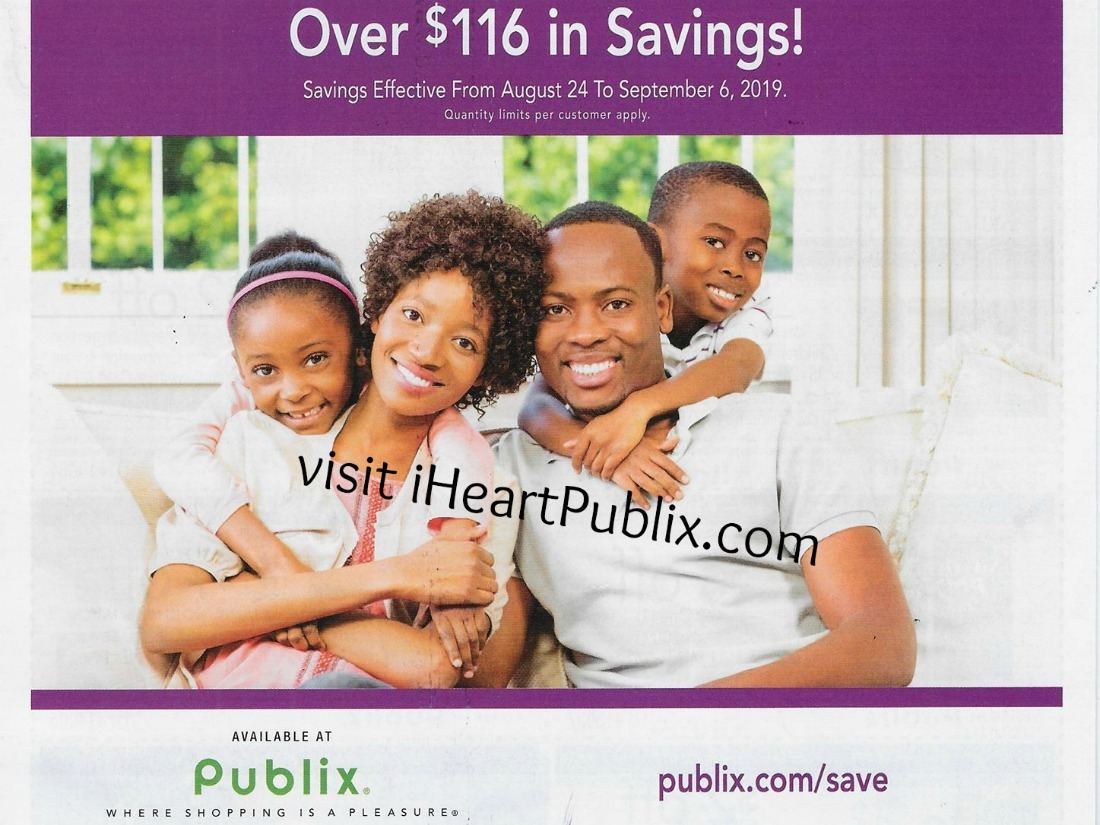 Publix Health & Beauty Advantage Buy Flyer Valid 8/24 to 9/6 on I Heart Publix