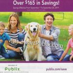 Publix H&B Flyer, 9/7 to 9/20 on I Heart Publix