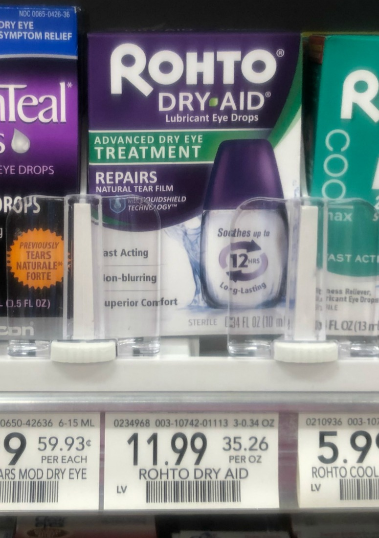Rohto Dry Aid Dry Eye Relief - As Low As $1.99 At Publix (Save $10) on I Heart Publix