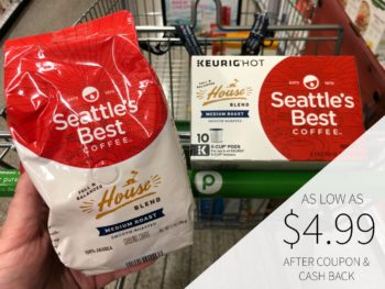New Seattle's Best Coupons + Ibotta = As Low As $4.24 At Publix on I Heart Publix