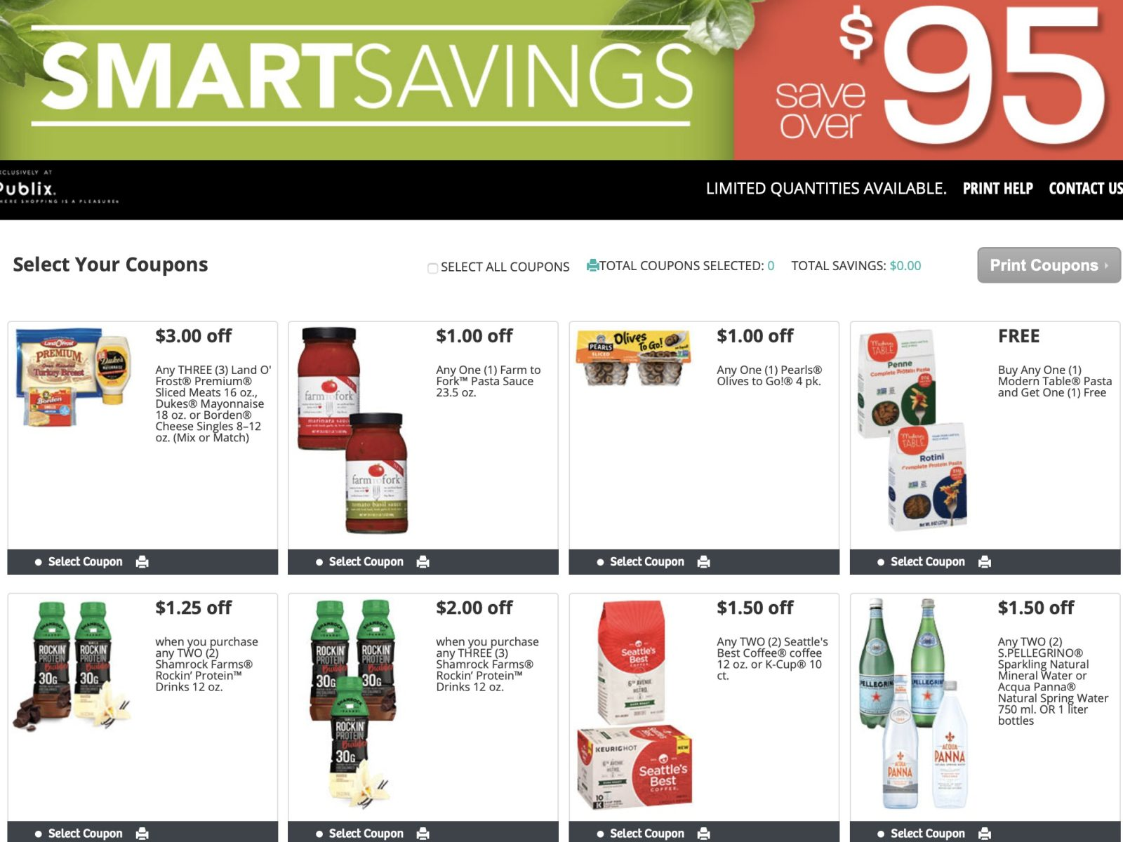 New Publix Booklet - Get The Savings Booklet & Printables Valid 8/17 – 9/14 on I Heart Publix 1