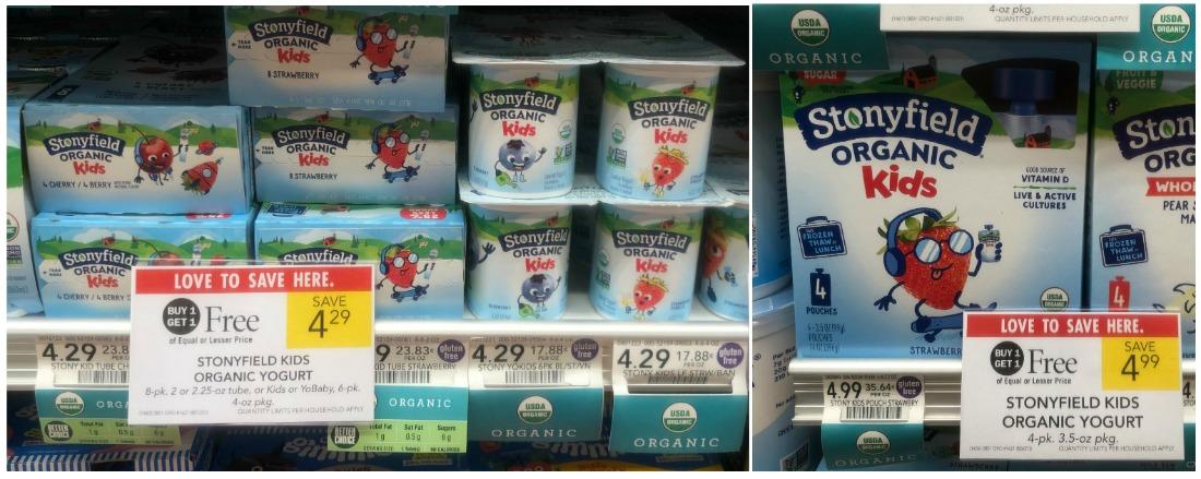 New Stonyfield Kids Organic Yogurt Coupon For Publix BOGO - Just $1.15 on I Heart Publix