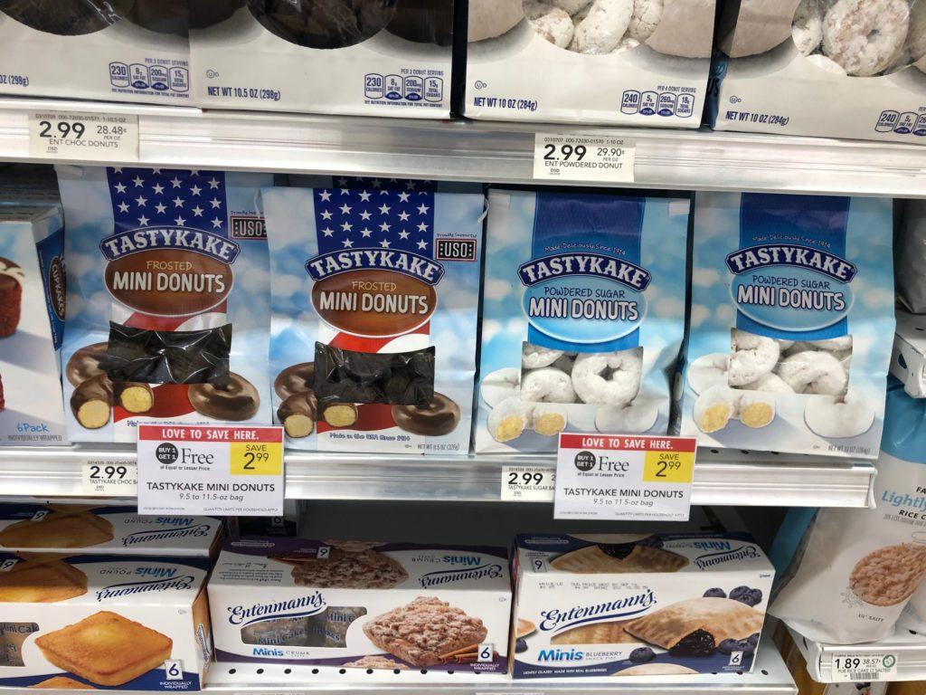 Tastykake Mini Donuts on I Heart Publix 2