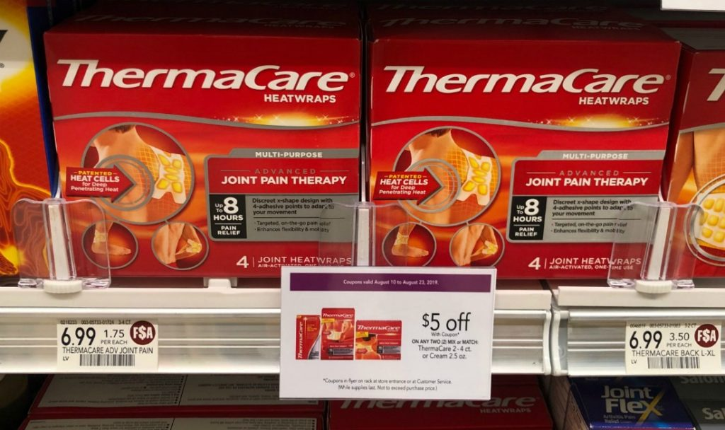 ThermaCare Heat Wraps As Low As 24¢ At Publix on I Heart Publix