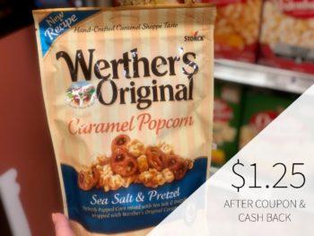 Werther's Original Caramel Popcorn Just $1.25 At Publix on I Heart Publix 1