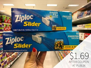 Keep Your Weekly Budget Low With The Help Of Ziploc® Brand Bags & Containers - Save Now At Publix on I Heart Publix