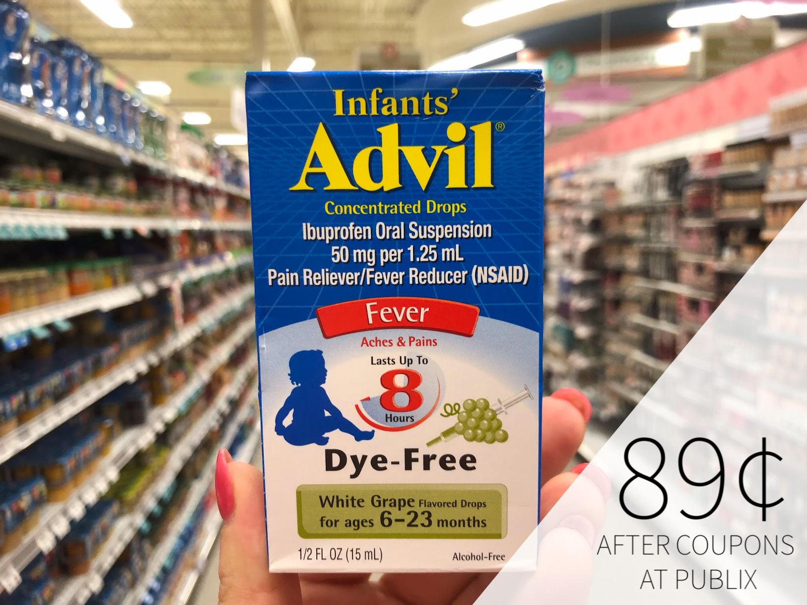 Children S Advil Coupon I Heart Publix