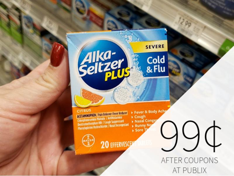 Alka-Seltzer Plus Just 99¢ At Publix on I Heart Publix 1