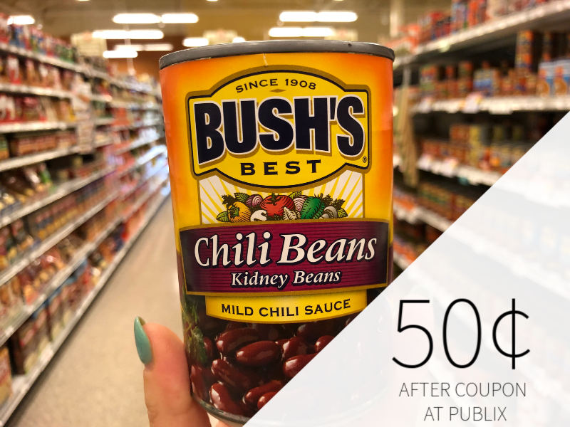 Bush's Best Chili Beans Just $ on I Heart Publix 1