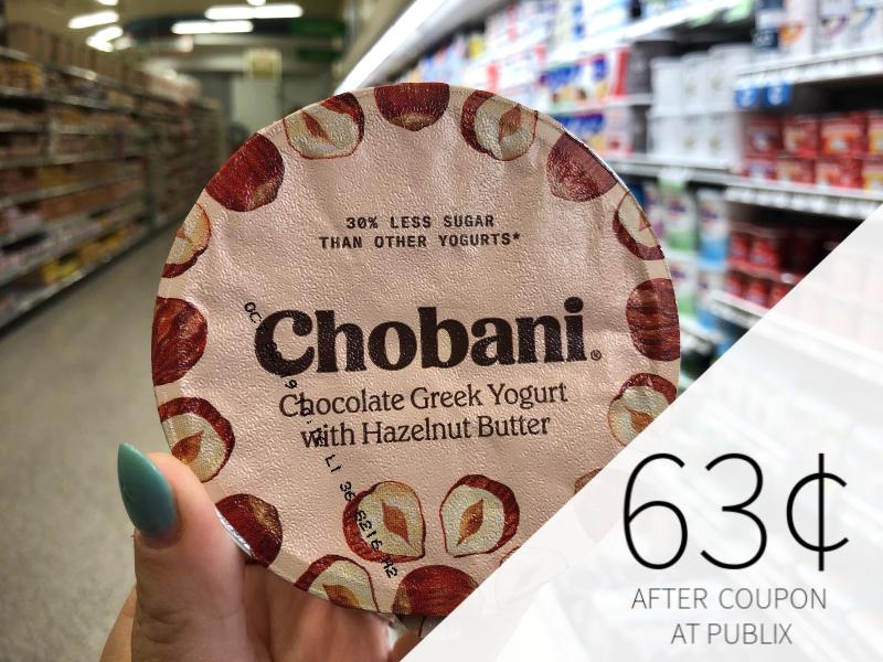 Chobani Nut Butter Yogurt Only $1.05 Per Cup At Publix on I Heart Publix 1
