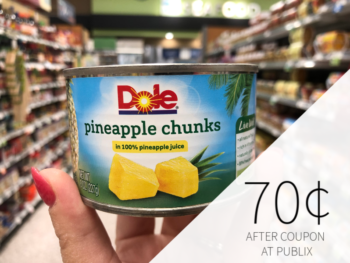 Dole Canned Pineapple Just 70¢ At Publix on I Heart Publix 1