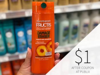 Garnier Fructis Hair Care Only $ on I Heart Publix 1
