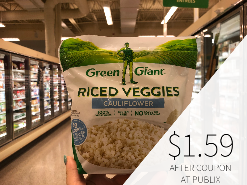 Green Giant Riced Veggies Only $1.59 At Publix on I Heart Publix