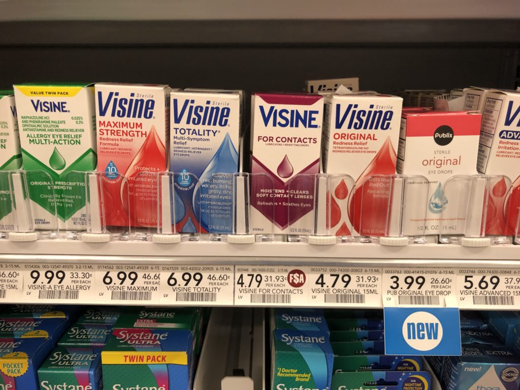 New Visine Coupon - on I Heart Publix