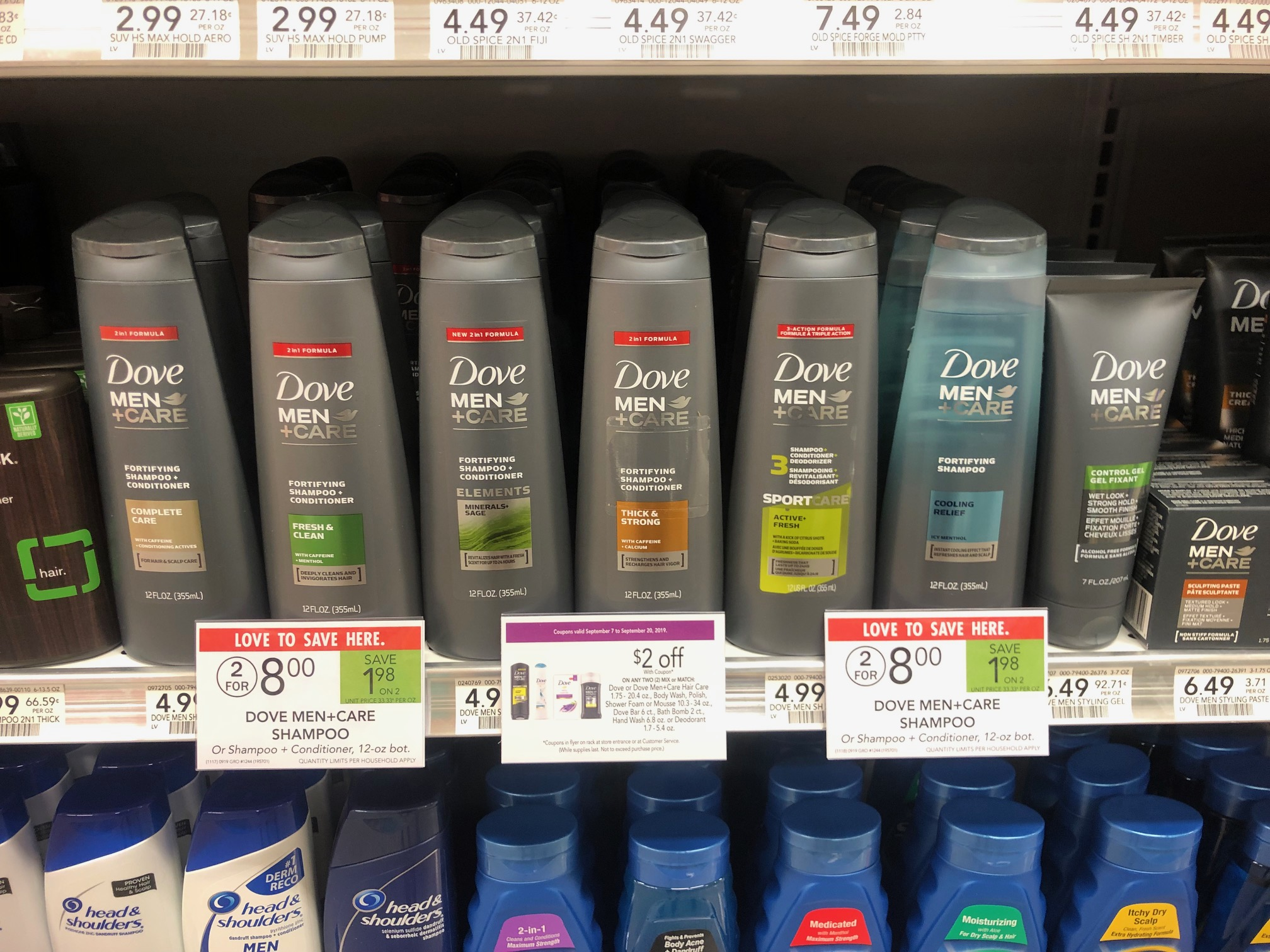 Dove Men Care Hair Care Products As Low As 1 50 At Publix