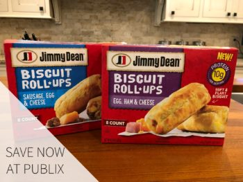 Super Deal On NEW Jimmy Dean Biscuit Roll-Ups Available Now At Publix on I Heart Publix