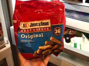 Stock Up Jimmy Dean Pre-Cooked Sausage on I Heart Publix