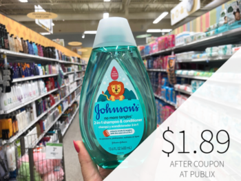 Johnson's 2-In-1 Shampoo & Conditioner Only $1.89 At Publix on I Heart Publix 1