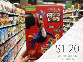 Kellogg's Cereal Only $1.20 At Publix on I Heart Publix 1