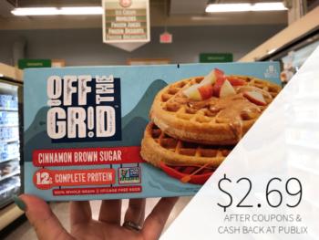 Off The Grid Waffles Just $2.69 At Publix on I Heart Publix 1