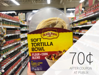 Old El Paso Soft Tortilla Bowls As Low As 70¢ At Publix on I Heart Publix 1
