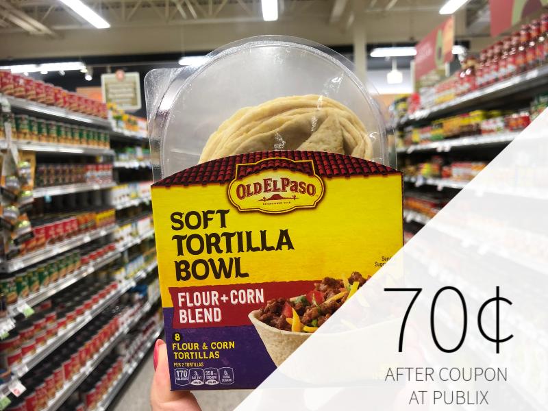 Old El Paso Soft Tortilla Bowls As Low As 70¢ At Publix on I Heart Publix 1