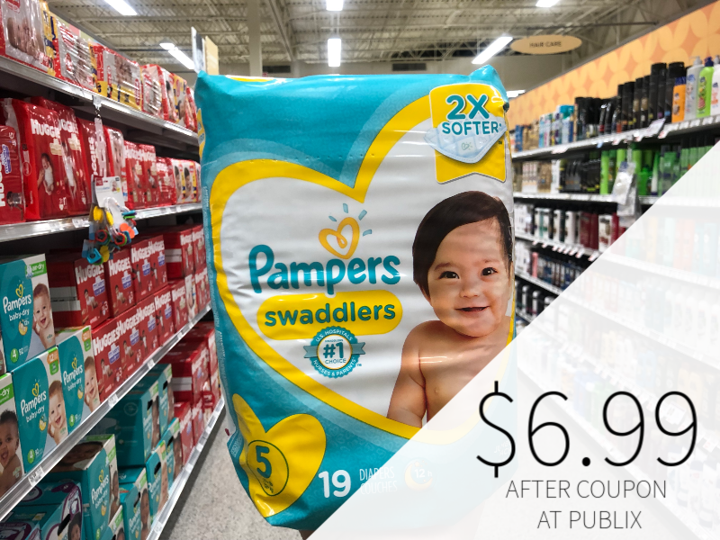 Pampers Diapers Only $6.99 At Publix on I Heart Publix 1