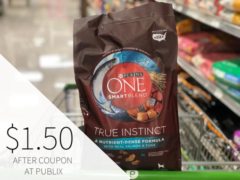 Purina ONE SmartBlend Adult Dog Food Just $1.50 At Publix on I Heart Publix 1