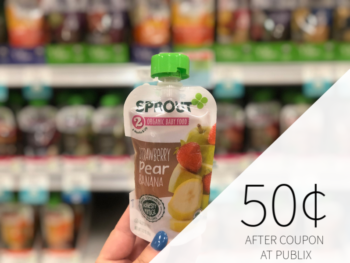Sprout Baby Food Just 50¢ At Publix on I Heart Publix 1
