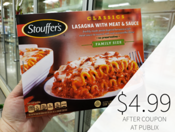 picture regarding Stouffer Coupons Printable known as stouffers coupon, I Middle Publix