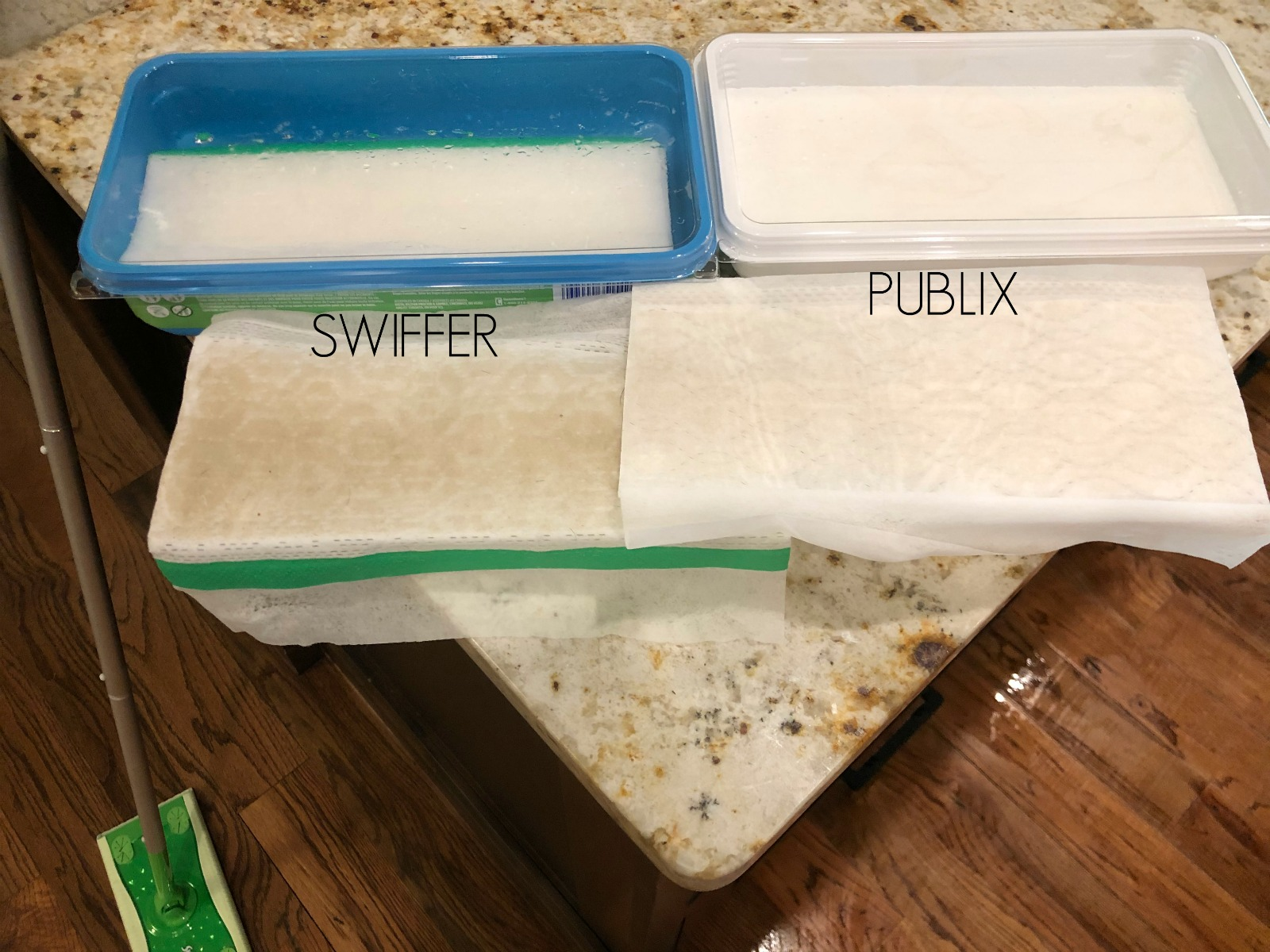 Try Me Tuesday - Publix Wet Mop Wipes on I Heart Publix