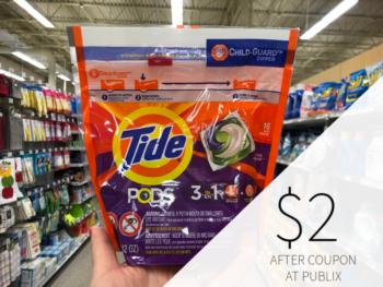Tide Pods Only $2 At Publix on I Heart Publix