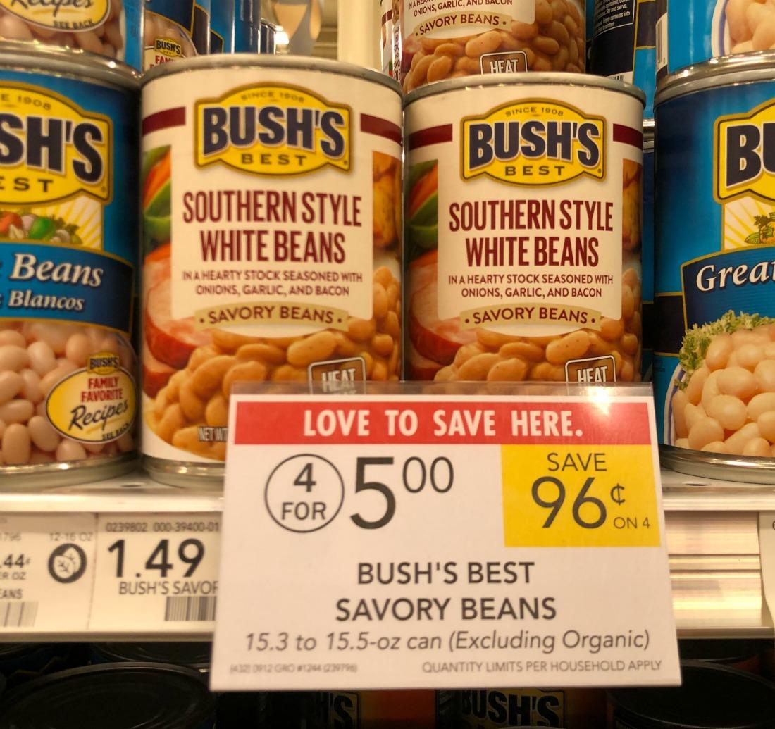 Bush's Best Savory Just 25¢ At Publix on I Heart Publix