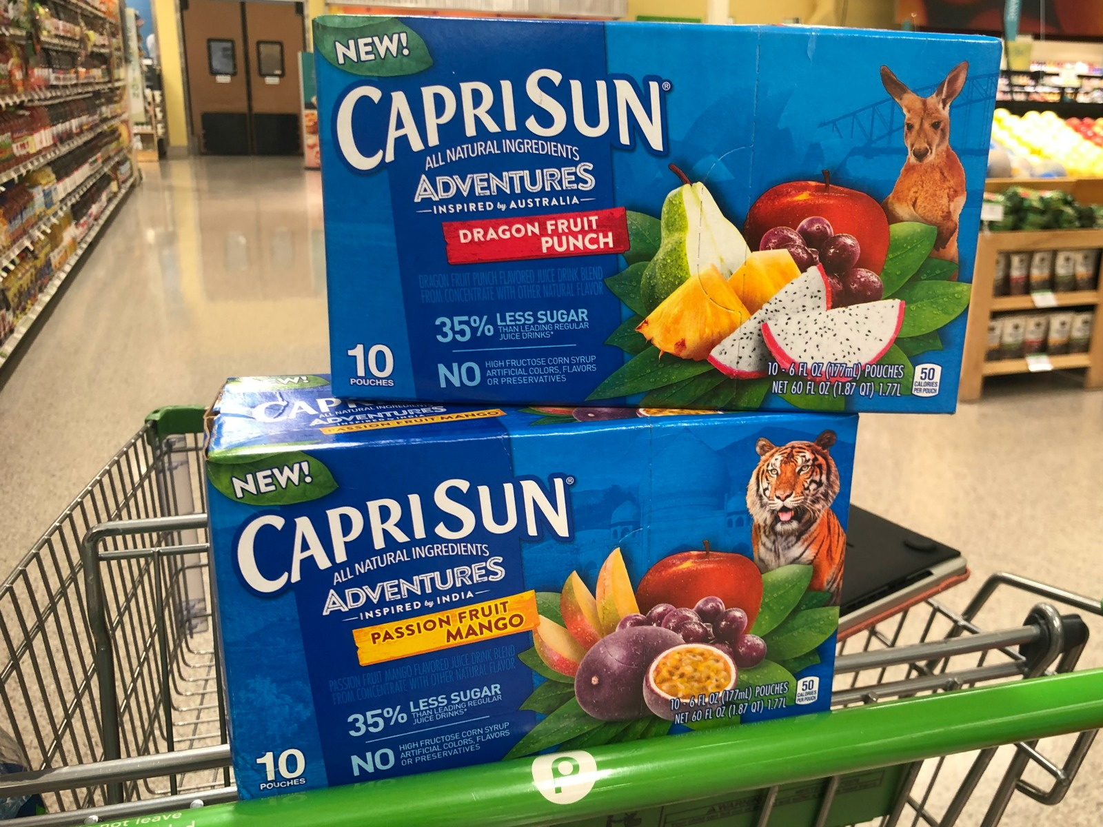 Look For New Capri Sun Adventures At Your Local Publix on I Heart Publix
