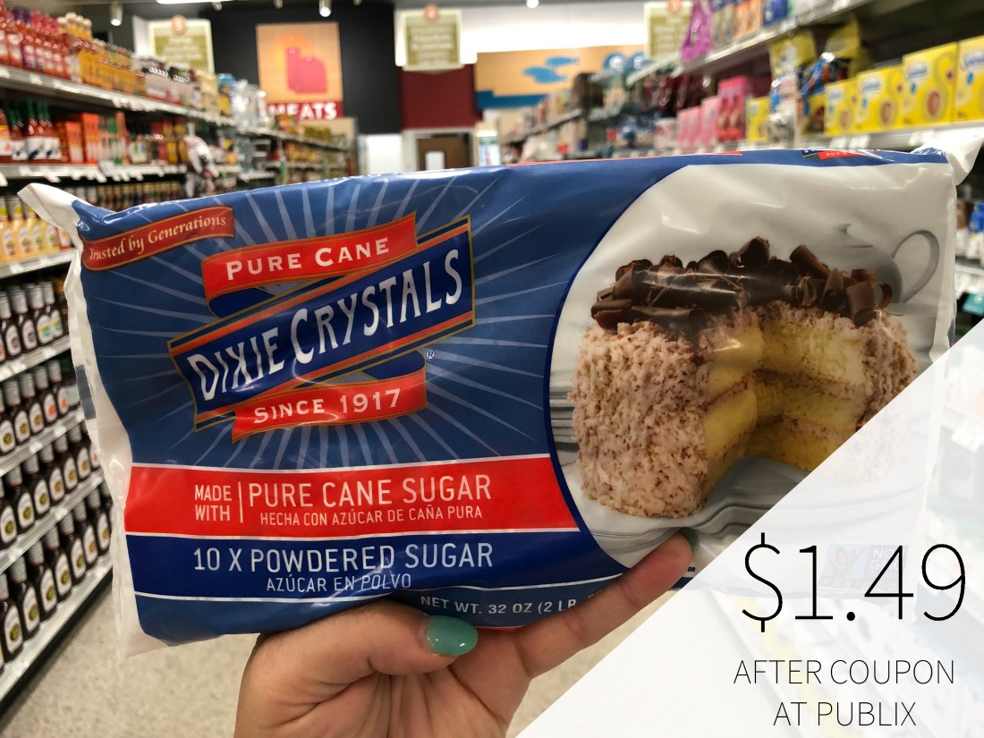 Dixie Crystals Light Brown or Powdered Sugar Just $1.49 At Publix on I Heart Publix 1