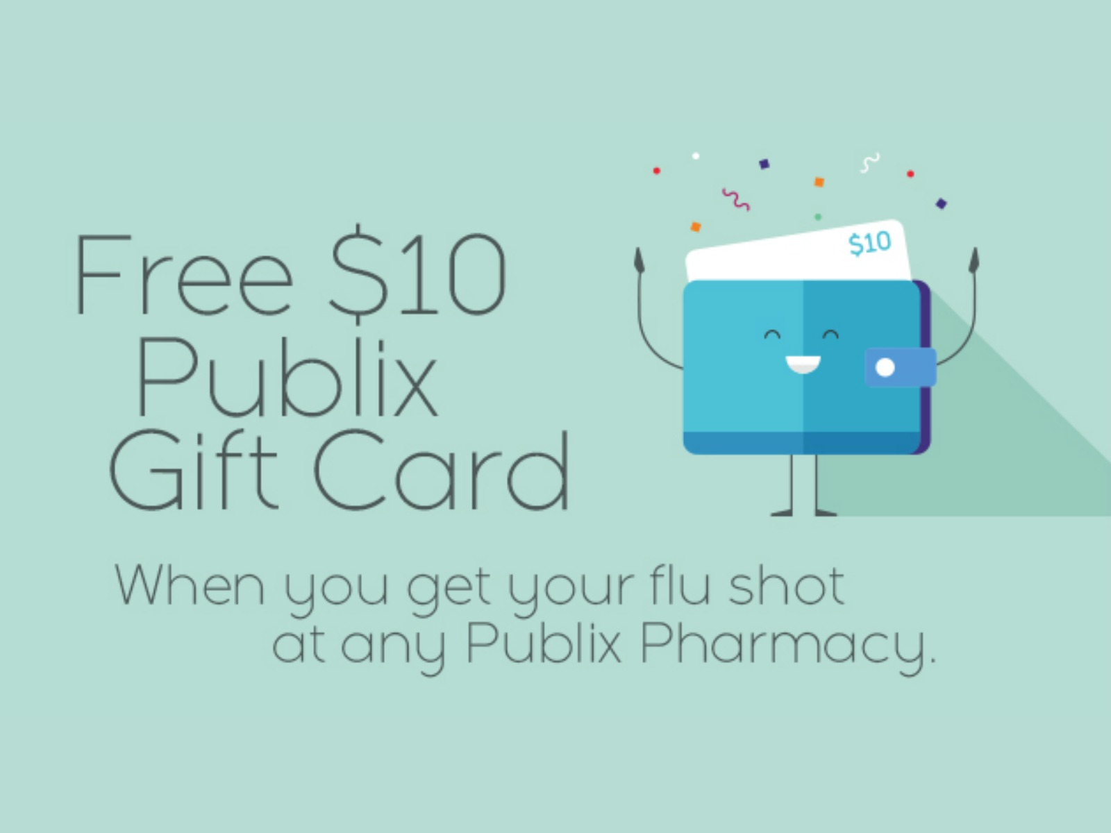 $10 Publix Gift Card With A Flu Shot From The Publix Pharmacy on I Heart Publix 1