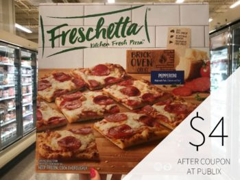 New Freschetta Pizza Digital For Publix Sale - Just $4 on I Heart Publix 1