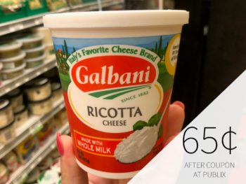 Galbani Ricotta Just 65¢ At Publix (Plus Cheap String Cheese) on I Heart Publix 1