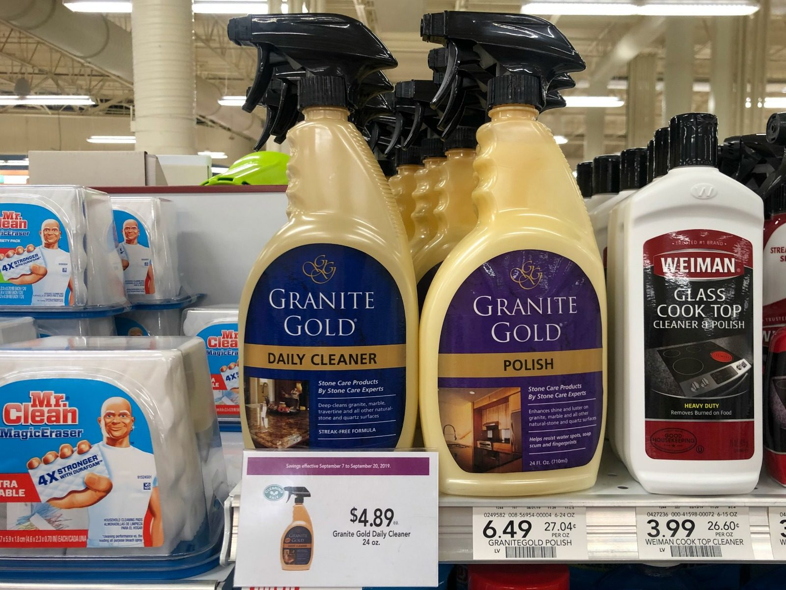 Still Time To Save On Granite Gold Daily Cleaner At Your Local Publix