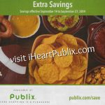 Publix Grocery Flyer, 9/14 to 9/27 on I Heart Publix