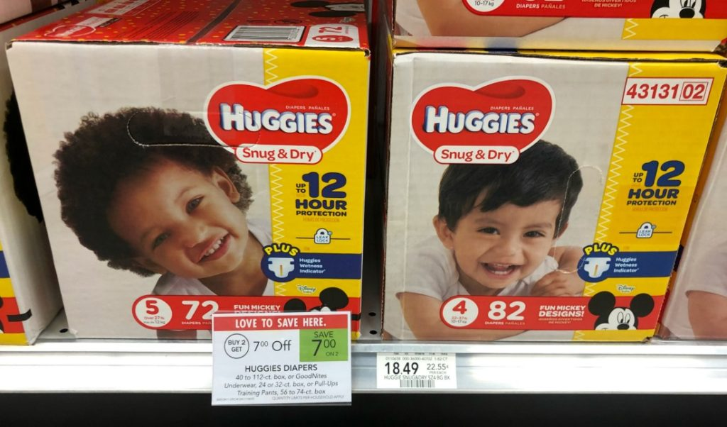 Huggies Diapers Only $ on I Heart Publix 2