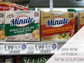 Grab Savings On Minute Rice At Publix - Try New Minute Ready To Serve & Save! on I Heart Publix