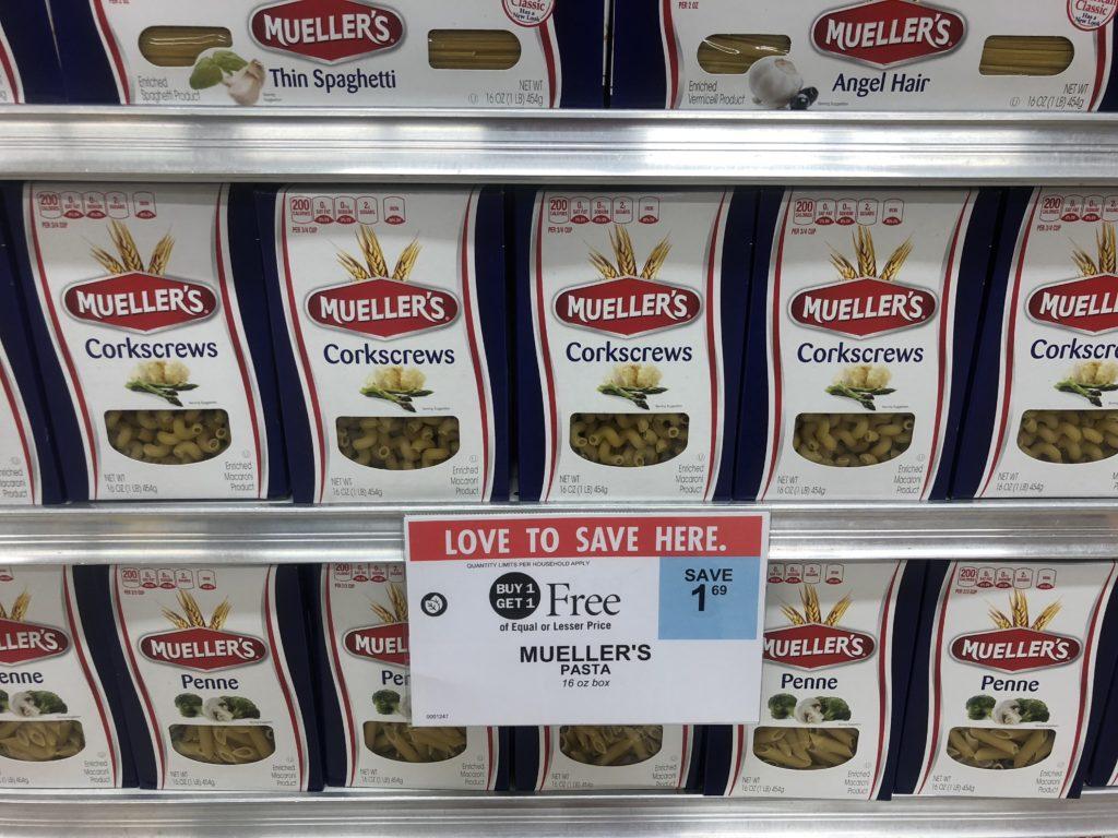 Mueller's Pasta Only 57¢ At Publix on I Heart Publix