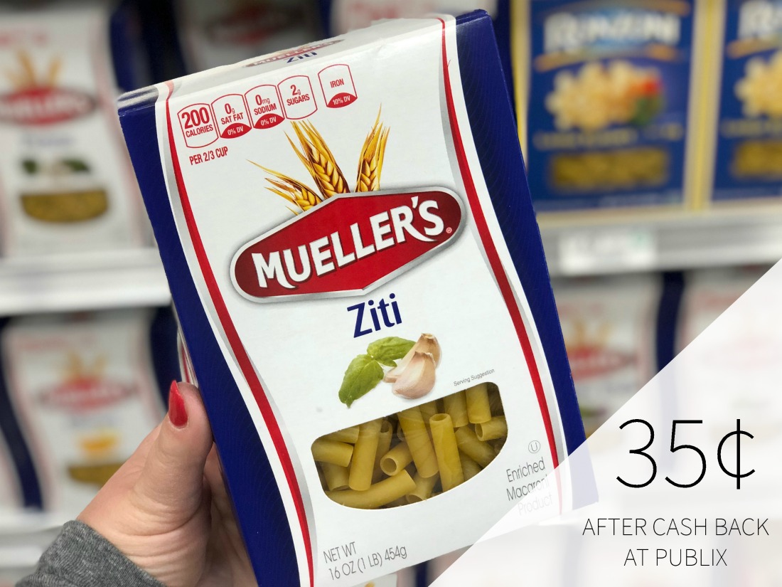 Mueller's Pasta Ibotta For Current BOGO Sale - Just 35¢ At Publix on I Heart Publix