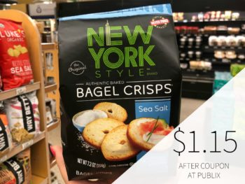 New York Style Bagel Crisps on I Heart Publix 1