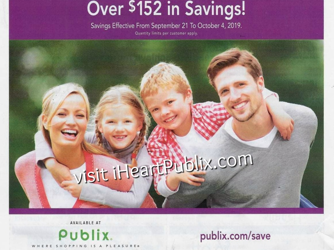 Publix Health & Beauty Advantage Buy Flyer Valid 9/21 to 10/4 on I Heart Publix
