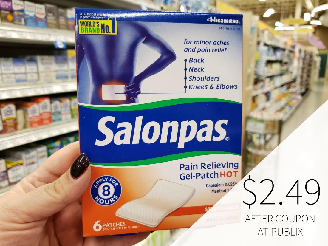 New Salonpas Coupon For The Publix Sale - Pain Relief Patches As Low As $3.24 on I Heart Publix 1
