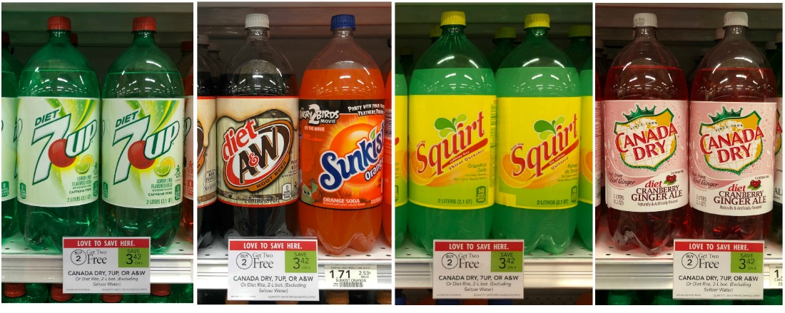 New Soda Ibotta Offers For Publix Sale - A&W, Canada Dry, 7up & more Just 61¢ on I Heart Publix